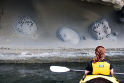 Sea kayaking day trip on Vancouver Island, British Columbia