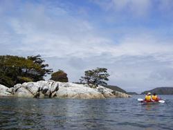 Sea Kayak Touring in the Broken Group Islands, British Columbia