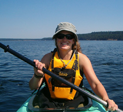 Cara Troy - Sea kayak guide Pacific Northwest Expeditions Sea Kayaking Adventures