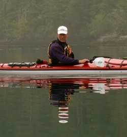Kerry Orchard - Sea kayak guide with Pacific Northwest Expeditions Sea Kayaking adventures