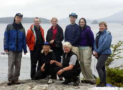Guests of Pacific Northwest Expeditions Sea Kayaking Adventures